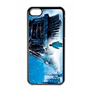 iPhone 5C Phone Cases Black The Polar Express FNR738086