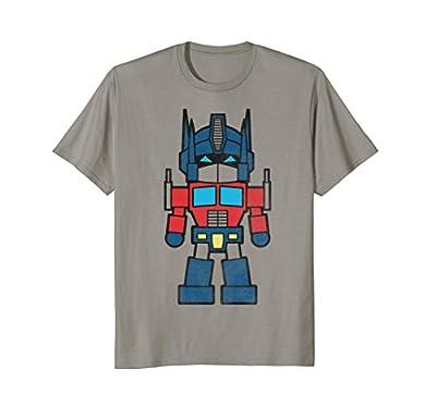Transformers Mini Optimus Prime Figure Graphic T-Shirt