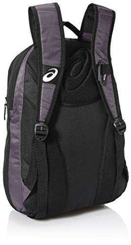 ASICS Black Steel Grey Backpack Edge II wzxFZB