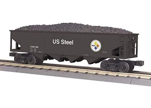 Rail King MTH US Steel 4-Bay Hopper CAR w/Coal Load