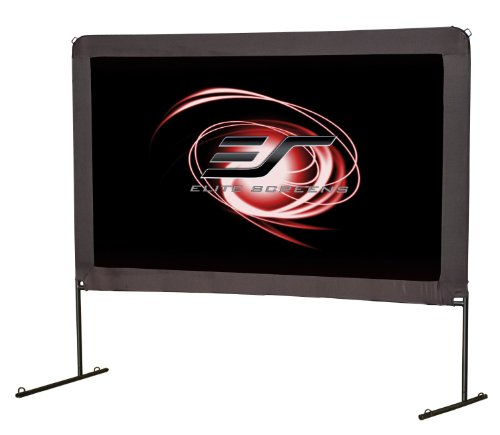 Elite Screens Yard Master Series, 150-in 16:9, Foldable Outdoor Portable Light Weight Front Projection Movie Screen, OMS150H by Elite Screens