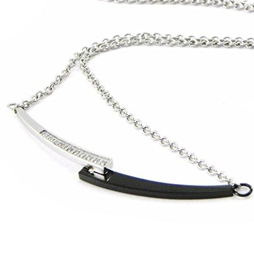 Steel collar 'Arwen' black. - Arwen Costume Pattern