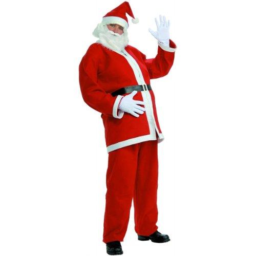 Santa Claus Costume (Forum Novelties Simply Santa Costume, White/Red, One Size)