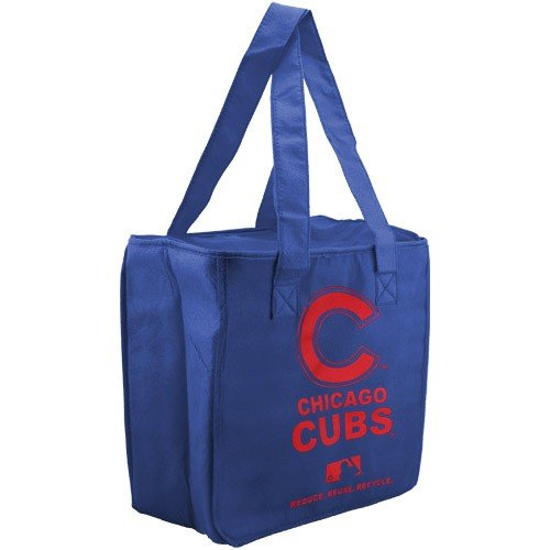 MLB Chicago Cubs Royal Blue Reusable Insulated Tote Bag