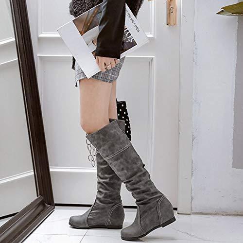 Donna Chelsea Grau Stivali Chicmark Stivali Chelsea Donna Chicmark XX7Z0Y1