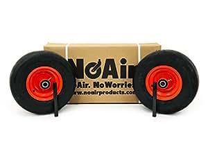 Kubota Flat Free Tire Assemblies 13x6.50-6 Orange Fits Z723, Z724, Z725, Z724X