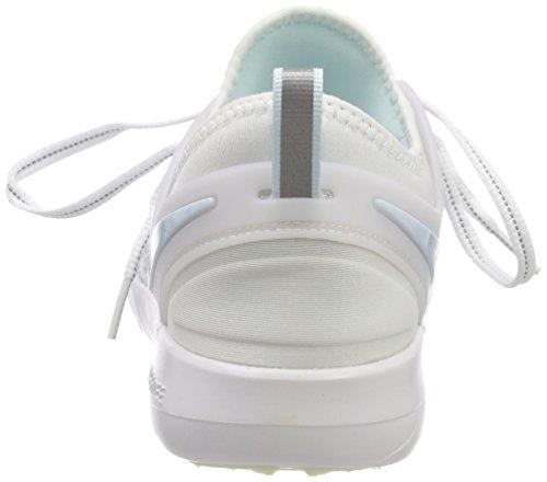 NIKE Women's Free TR 7 Training Shoes (9, White/Grey/Blue-M) by NIKE (Image #2)