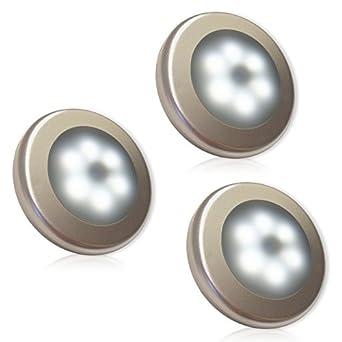 3PCS Motion Sensor Light  XYMO Battery Powered Motion Sensor LED Night Light  Stick Anywhere Indoors  Safe for Kids  with FREE 3M Adhesive Pads. 3PCS Motion Sensor Light  XYMO Battery Powered Motion Sensor LED