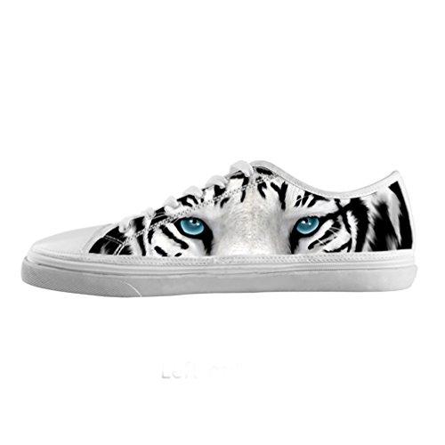 Cheese individuo de Custom Hombres lienzo ziepper basso-top Sneaker Cordones Zapatos Flamingo lavabo, US12/eur45