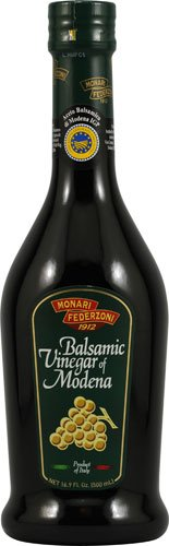 Monari Federzoni Balsamic Vinegar of Modena -- 16.9 fl oz - 2 pc 1 2 Glass Bottles - 16.9 Ounces Each Expires FEBRUARY 23, 2019 BALSAMIC VINEGAR of MODENA - a Product of Italy