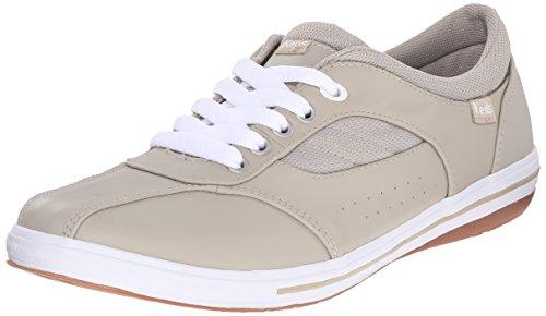 Keds Women's Prestige Fashion Sneaker,Stone Leather,10 M US