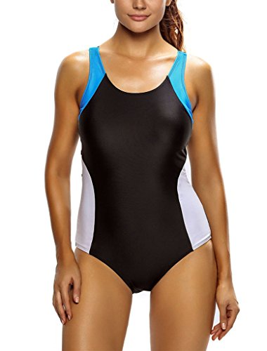 Sidefeel Women Racerback Athletic Swimsuit