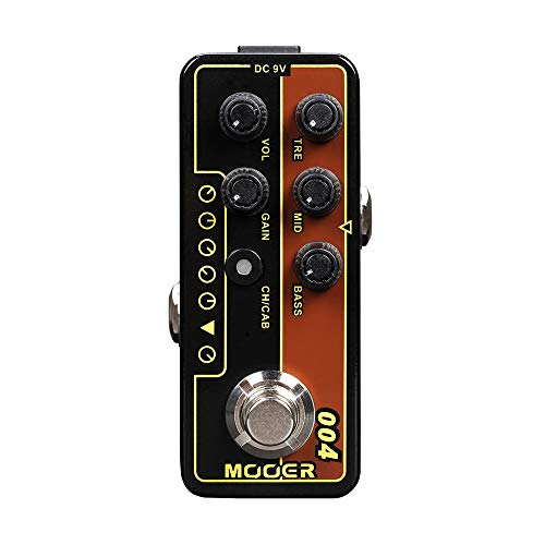 Shell 004 Series - Kalaok MICRO PREAMP Series 004 Day Tripper 60's UK Twang Digital Preamp Preamplifier Guitar Effect Pedal True Bypass