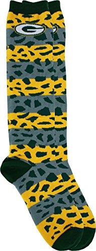 Medley Pattern - Green Bay Packers Pattern Medley Socks, Medium