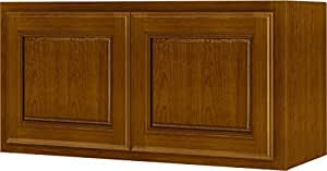 Randolph W3018RA-B Double Door Kitchen Cabinet 18 in W X 12 in D X 30 in H Amber