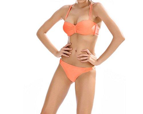 PrettyCos traje de bano mujer banador -Talla XL