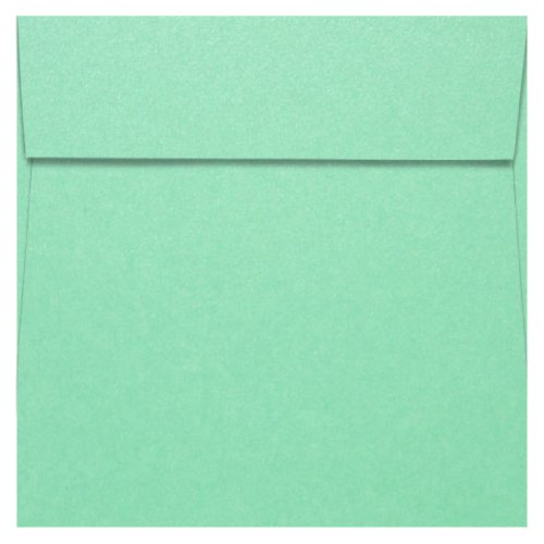 8 1/2 x 8 1/2 Lagoon Metallic Square Envelopes, Stardream 81lb, 1000 (Stardream Lagoon Square)