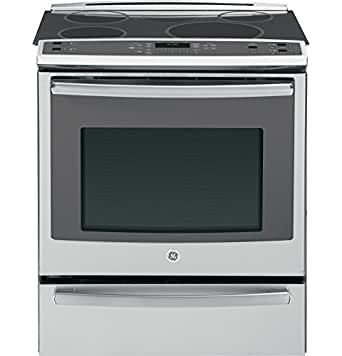 """GE Profile PHS920SFSS 30"""" Profile Series Slide-in Electric Range with Smoothtop Cooktop, in Stainless Steel"""