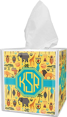 RNK Shops African Safari Tissue Box Cover (Personalized)