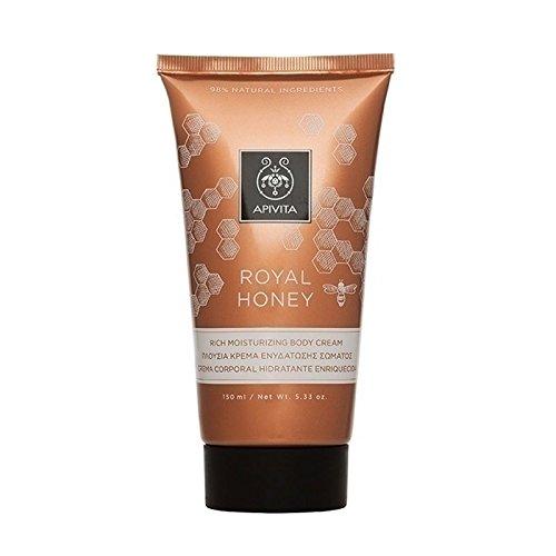 Apivita Royal Honey Rich Moisturizing Body Cream 150ml/5.1oz (New Product, Released in 2018)