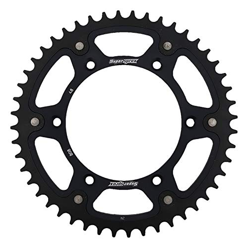 SuperSprox RST-808-48-BLK Black Stealth Sprocket