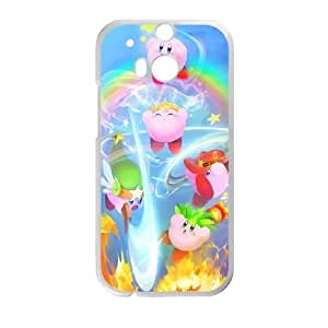 HTC One M8 Phone Case White Kirby UYUI6764607