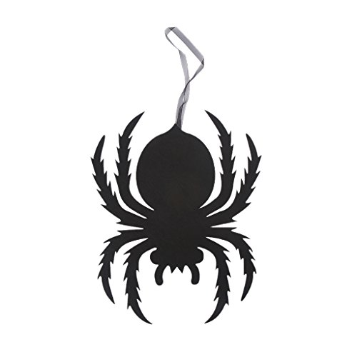 dfsdmlp Halloween Decoration,Spider Spooky Wall Door Hanging DIY Ornament Non Woven Pendant -