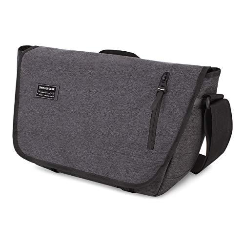 SWISSGEAR Multi-Functional 13-inch Laptop Messenger Bag | Travel, Work, School | Men