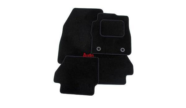 Amazon.es: 9000 CSE Turbo (85 - 98) Premium negro alfombra alfombrillas Plus Clips