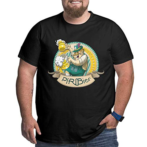 Unisex Adult Big Size Fitted T-Shirts for Husband Travel, Piri Bier 2017 Beer 2018 Organism Oktoberfest Short Sleeve Top with Crew Neckline, Wicking Cotton Funny Tee Shirts Clothing 5XL]()
