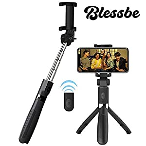 BLESSBE Gimbal Selfie Stick Tripod Camera Shutter Remote 4 in 1 Gimbal for Phone Best for Making Videos on YouTube, Tiktok Short Video and Vlog Shooting- BB20 19