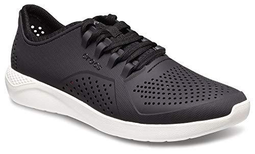 Noir (Noire   Blanc 066) 41 42 EU Croc's Chaussure Noire Blanc Hommes, Richelieus