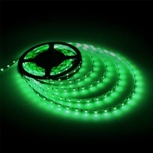Eastchina SMD 3528 - Juego de tiras de luces LED flexibles (5 m, para jardines, hogares, cocinas, debajo del gabinete,...