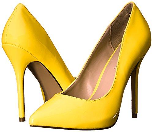 Scarpe Plateau Amuse Pleaser Yellow Donna Con Neon Pat 20 qvZUxTHw7