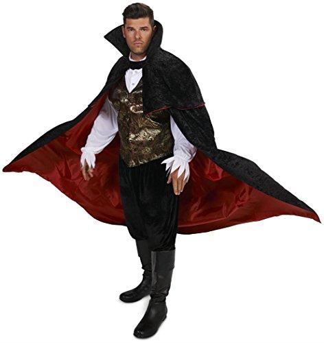 Dream Weavers Costumers - Black Gothic Vampire Male Adult Plus Costume - Plus 1X -