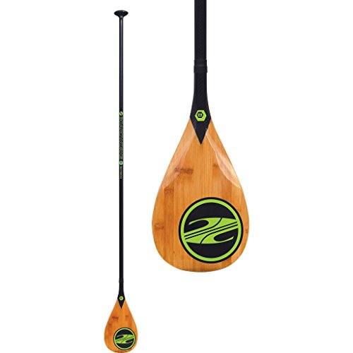 Boardworks Bamboo 1-Piece Paddle | Wood/Carbon