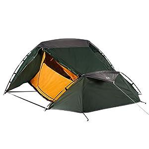 Ultrasport Tienda de campaña Adecuada para Festivales, Camping y Trekking, se Entrega con Bolsa de Transporte, protección UV y mosquiteros, Columna de Agua hasta 1000mm, 2,33x1,88x1,00 m 13