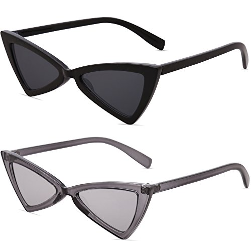 Mirrored Grey grey Small Women Pairs Glasses Transparent Sunglasses Cateye Pointed Of High Men Sj2051 Triangle silver For black Sojos 2 D6 RpaUqdwxa