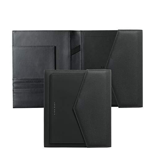 - Hugo Boss HDM809A A5 Sophisticated Folder - Black