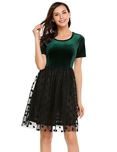 Velvet Patchwork Skirt - 2