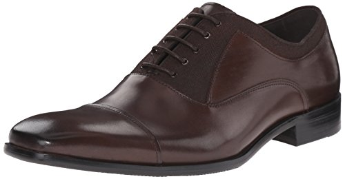 Kenneth Cole REACTION Men's Break The News Oxford, Brown, 9 M US