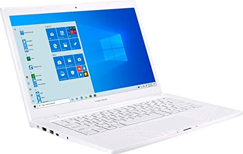 ASUS ImagineBook 14-inch FHD (1920x1080) LED Display, Intel Core M3-8100Y, 4GB RAM, 128GB Solid State Drive, USB Type-C, Webcam, HDMI, Bluetooth, ASUS SonicMaster Stereo Speakers, Windows 10