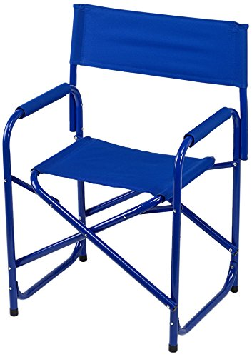 E-Z UP Directors Chair, Standard, Blue - Padded Director Chair Cover