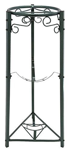 "Bluewave 3-Step Floor Metal Stand - 35"" Inch Metal, Green"