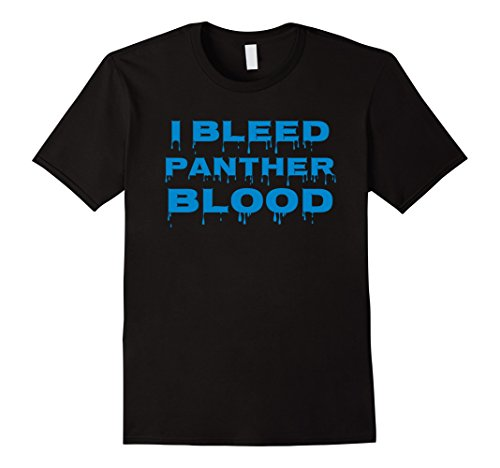 Mens I BLEED PANTHER BLOOD Cool Blue T Shirt XL ()