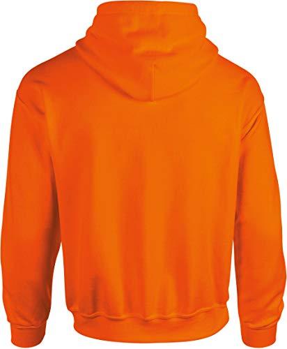 Heavy nbsp;sweat Capuche Orange Gildan 18500 nbsp;– Avec Safety Blend SAaxqdwIB
