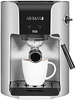 Teesa Aroma 300 – Máquina de café manual, 1.5 l, 1400 W, Plata ...