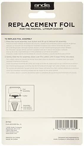 Andis Foil The Profoil Lithium Shaver