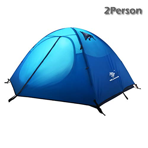 Azarxis 1 2 3 Person 3 Season Professional Backpacking Tent, Dome Tents Easy Setup & UPF 50+ UV Protection Sun Shelter…