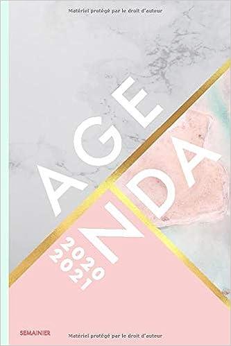 Amazon Fr Agenda 2020 2021 Semainier A6 Juillet 2020 A Decembre 2021 Planificateur Semainier Simple Graphique 1 Semaine Sur 2 Pages Collectif Papeterie Livres
